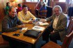 Bob Sinner, Jim Buus and Eric Monson